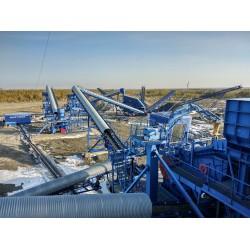 Запуск завода по производству щебня в г. Асбест